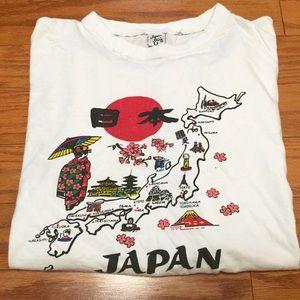 Other - Japan T shirt men's medium Map graphics